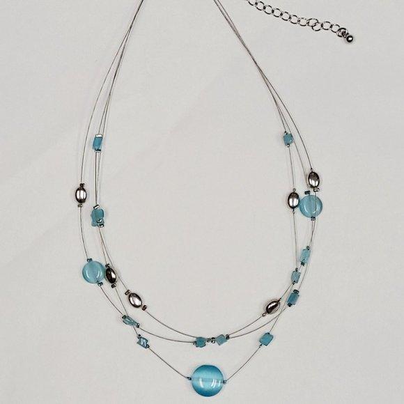 Lia Sofia 3-Layer Necklace